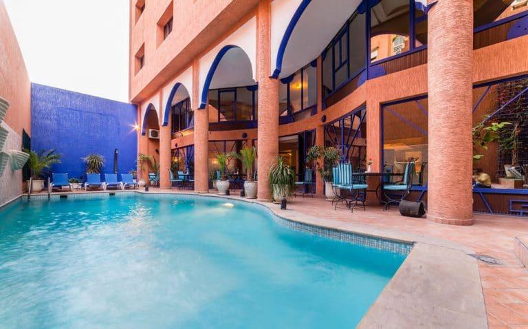 vacances marrakech pas cher h tel vol a r 221 d part de montpellier en ao t. Black Bedroom Furniture Sets. Home Design Ideas