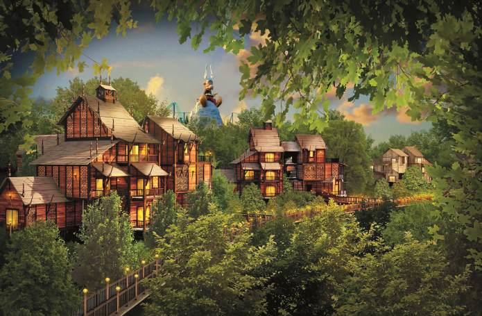Séjour Parc d'Asterix dès 76€ inclus hôtel + billet parc