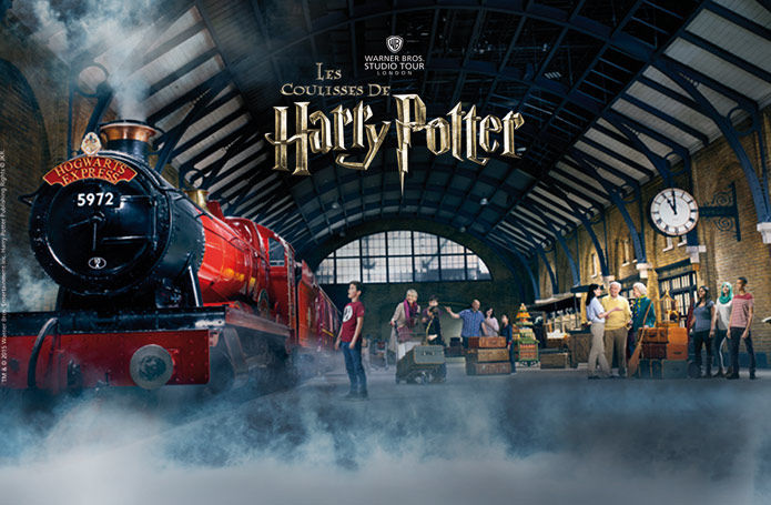 parc d'attraction harry potter londre